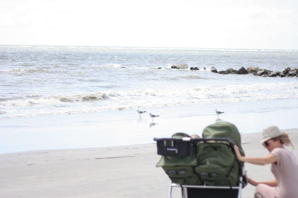 Charleston Staycation: Sullivan's Island with Bumbleride