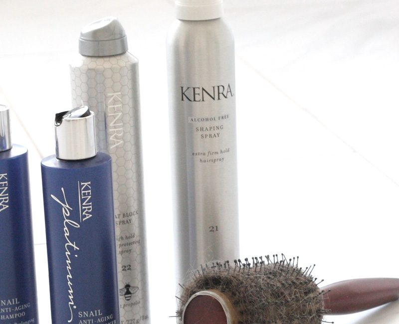 Postpartum Hair Routine with Kenra