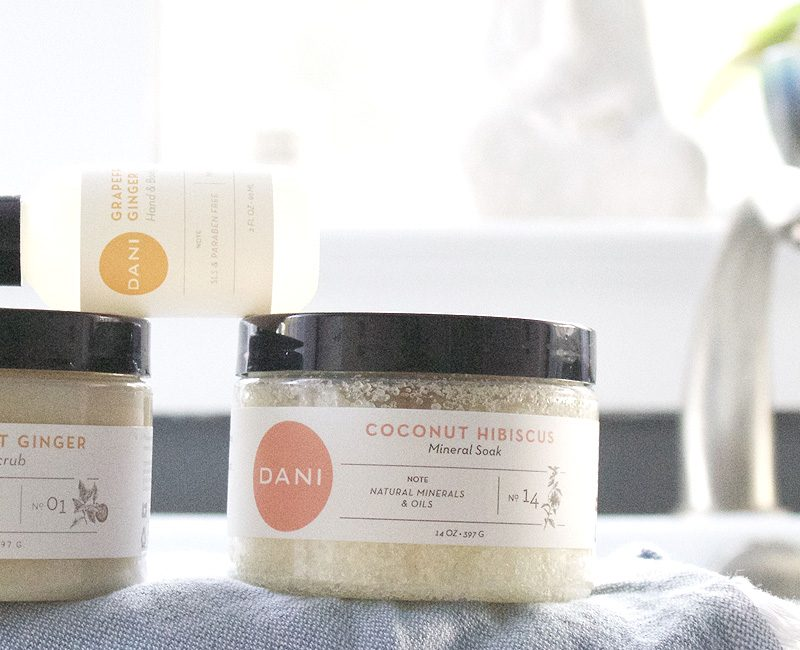 UNBOXING: DANI NATURALS {BODY + HOME} REVIEW