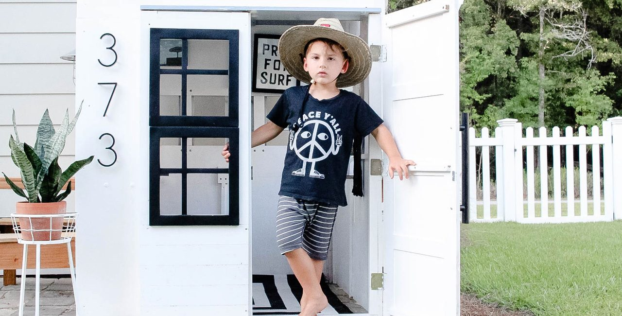 A SURF INSPIRED PLAY-HOUSE FOR BOYS