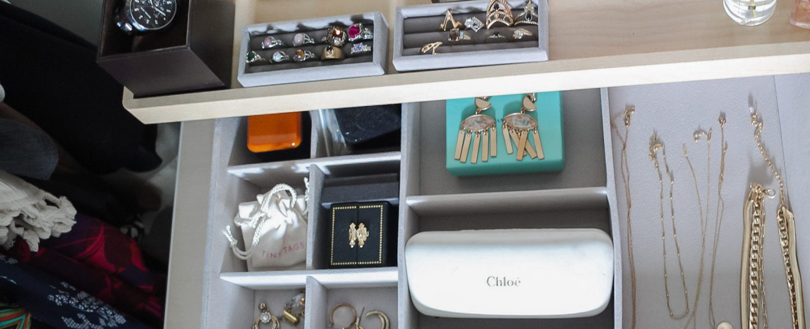 HIS + HERS CLOSETS WITH THE CONTAINER STORE
