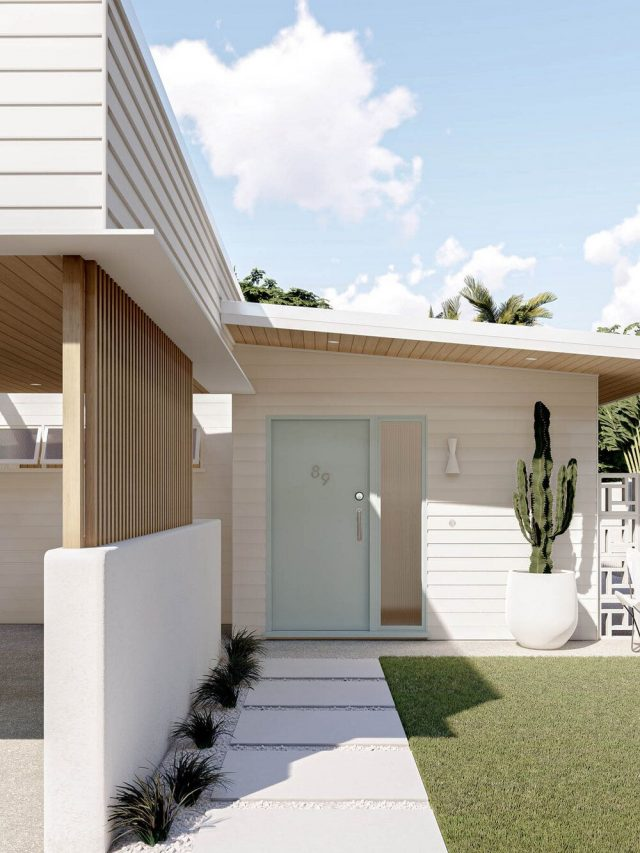 EXTERIOR HOME TREND: MID-MOD