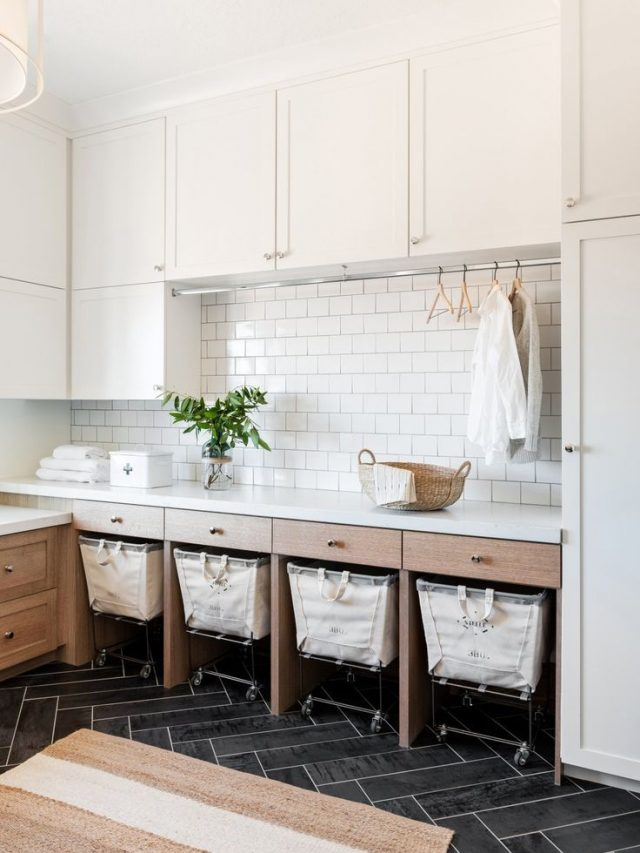 THE BEST OF: LAUNDRY ROOMS
